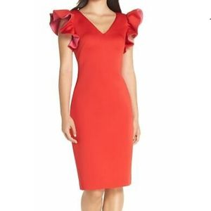 Eliza J Women's Red Dress / Party/ Cocktail